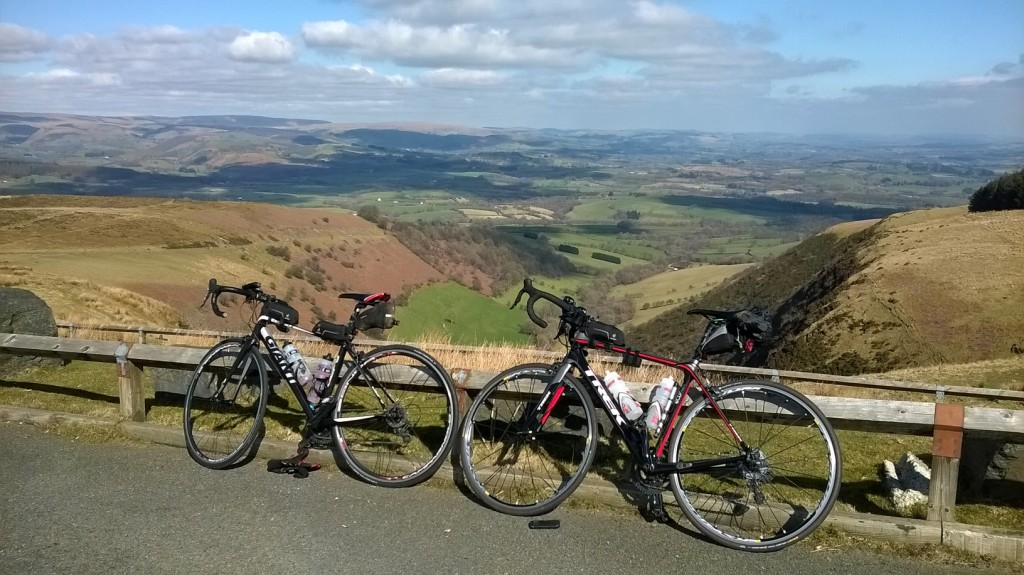 Not a normal route out of Brecon but a stunning one!