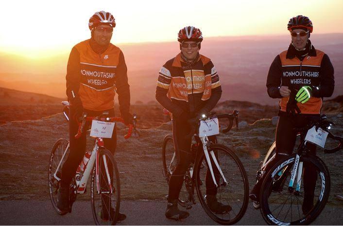 MonWheelers riders